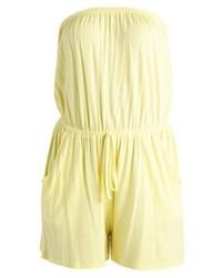 Combishort jaune New Look