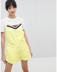 Combishort jaune Nike