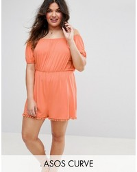 Combishort orange Asos
