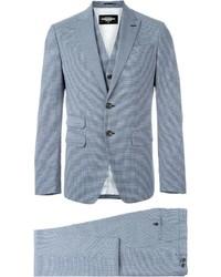 Complet en laine bleu clair DSQUARED2