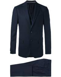 Complet en laine bleu marine Z Zegna