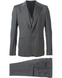 Complet en laine gris Dolce & Gabbana