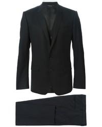 Complet en laine noir Dolce & Gabbana