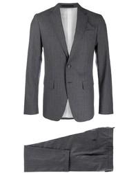 Costume à rayures verticales gris foncé DSQUARED2