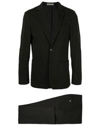 Costume à rayures verticales noir Corneliani