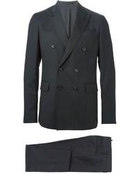 Costume à rayures verticales noir DSQUARED2
