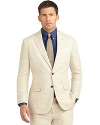 Costume beige Brooks Brothers
