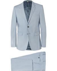 Costume bleu clair Burberry