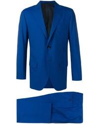 Costume bleu Kiton