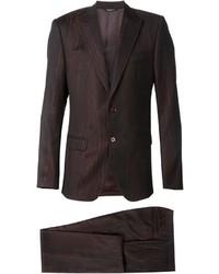 Costume bordeaux Dolce & Gabbana