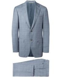 Costume en laine bleu clair Canali