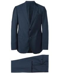 Costume en laine bleu marine Armani Collezioni