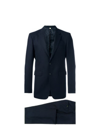 Costume en laine bleu marine Burberry