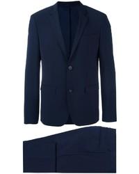 Costume en laine bleu marine Calvin Klein