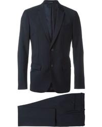 Costume en laine bleu marine Jil Sander