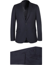 Costume en laine bleu marine Paul Smith