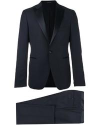 Costume en laine bleu marine Tagliatore
