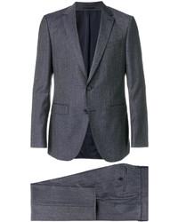 Costume en laine bleu Hugo Boss