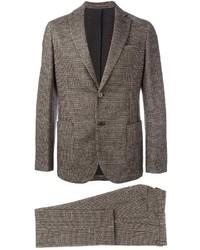 Costume en laine brun Eleventy