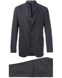 Costume en laine gris foncé Eleventy