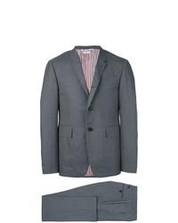 Costume en laine gris foncé Thom Browne