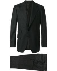 Costume en laine gris foncé Tom Ford