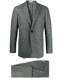 Costume en laine gris Boglioli