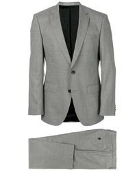 Costume en laine gris BOSS HUGO BOSS