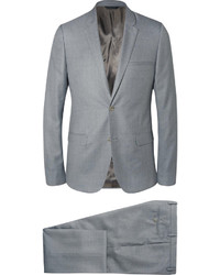 Costume en laine gris Calvin Klein Collection