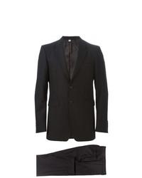 Costume en laine noir Burberry