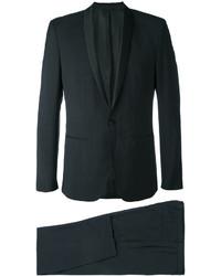 Costume en laine noir Calvin Klein