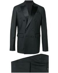 Costume en laine noir DSQUARED2