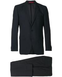 Costume en laine noir Hugo Boss
