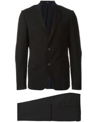 Costume en laine noir Kenzo