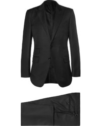 Costume en laine noir Tom Ford