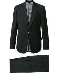 Costume en laine noir Vivienne Westwood