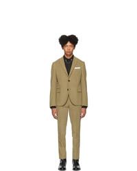 Costume en velours côtelé olive Neil Barrett