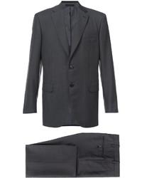 Costume gris foncé Brioni