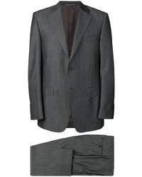 Costume gris foncé Canali