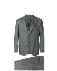 Costume gris foncé Kiton