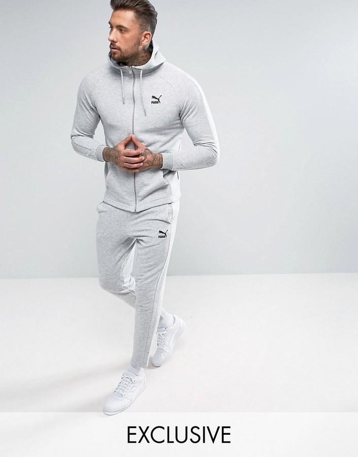 Costume gris Puma