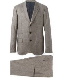 Costume marron Brunello Cucinelli