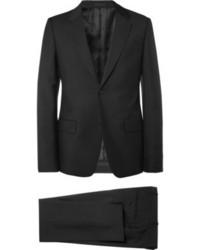 Costume noir Alexander McQueen