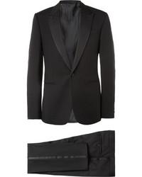 Costume noir Balenciaga