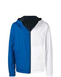 Coupe-vent blanc et bleu Paul & Shark