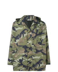 Coupe-vent camouflage olive