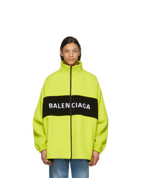 Coupe-vent chartreuse Balenciaga