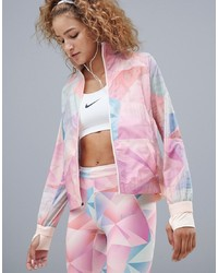 Coupe-vent imprimé multicolore Nike Running