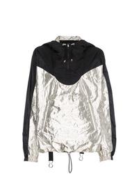 Coupe-vent noir et blanc Isabel Marant