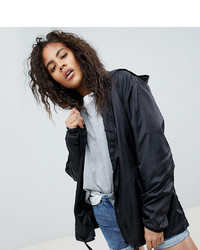 Coupe-vent noir Asos Tall
